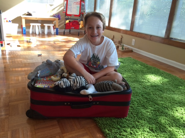 James in Panama Suitcase