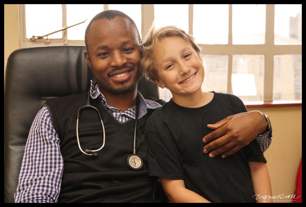 Me and Dr. Gathuki