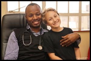 James and Dr. Gathuki