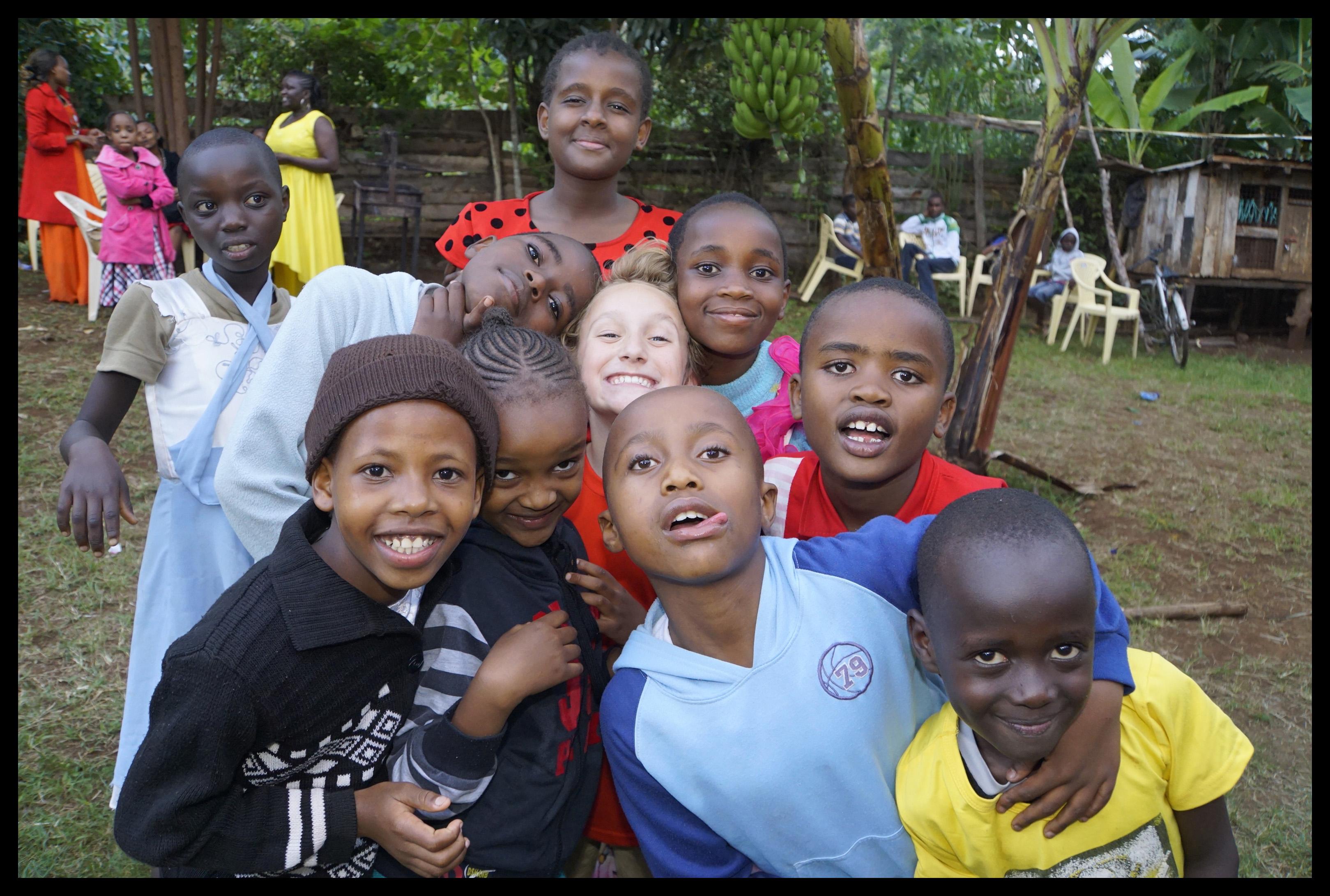 Making Friends at a Kikuyu Wedding