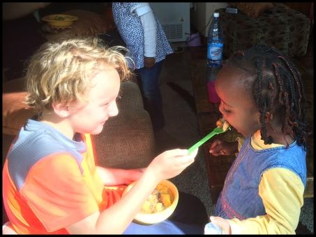 Feeding Njoki