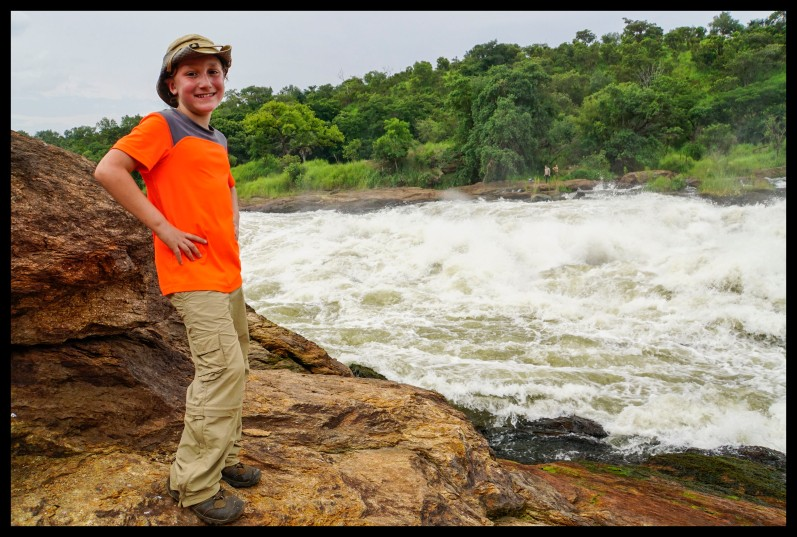 Me at the top of Murchison Falls