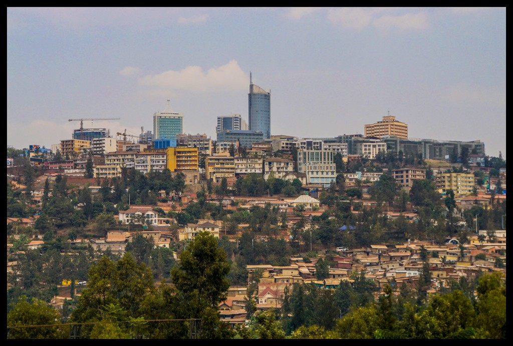 Downtown Kigali today