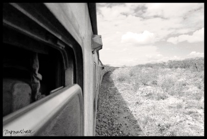 Long train to Mombasa