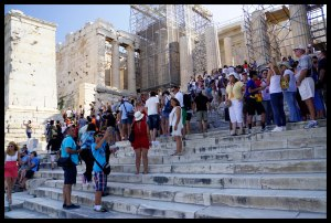 Acropolis Crowds