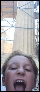 Acropolis Scaffolding