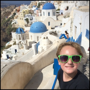 Famous Blue Domes in Oia