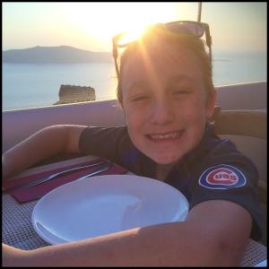 James at Sunset