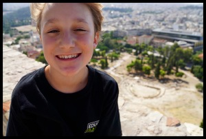 Top of the Acropolis