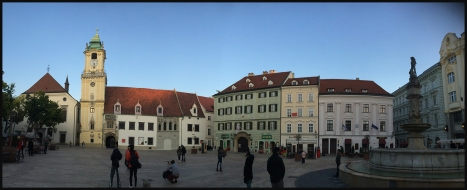 Bratislava - Old Town Square