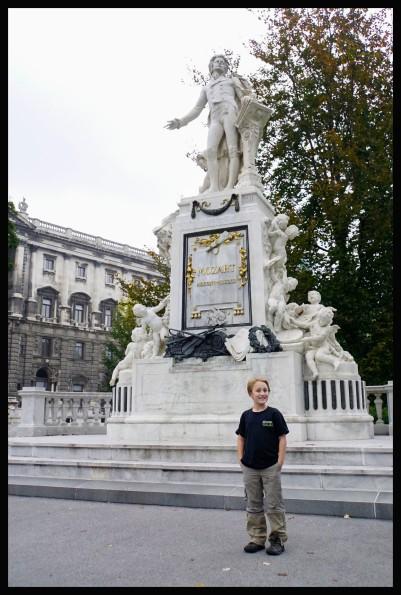 Vienna - Mozart Statue