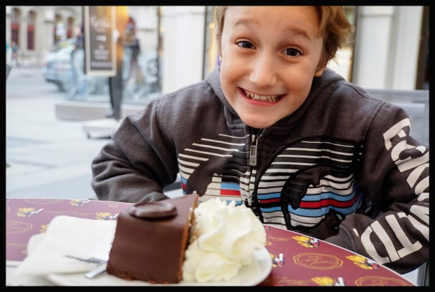 Vienna - the famous Sachertorte!