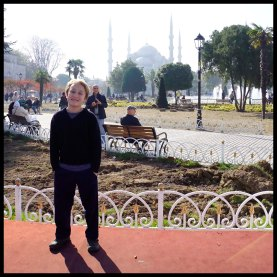 This is one of the 7 wonders of MY world! (The Blue Mosque)