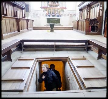 Sighișoara - The crypt