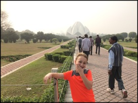 Delhi - The Lotus Temple (Baha'i)