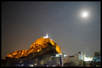 Jodhpur - View of the Temple