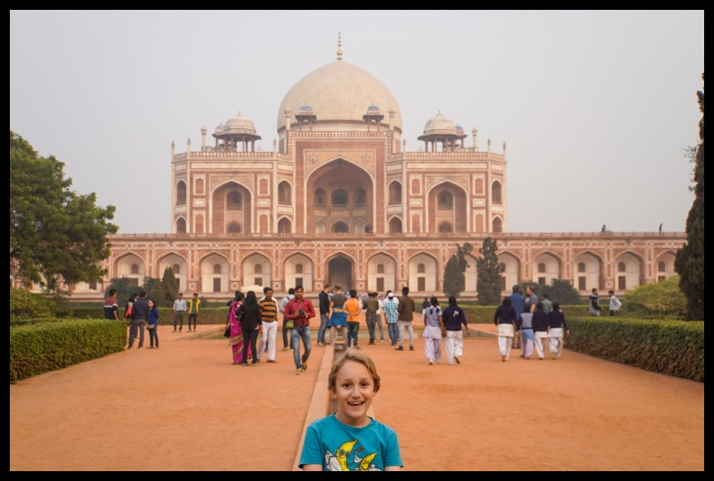 Delhi - Hayuman's Tomb