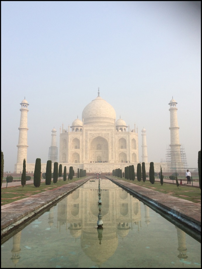 Agra - The photo I took of the Taj!!