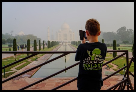 Agra - the Taj Mahal