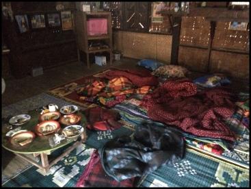 Day 1 - Bedroom/Diningroom