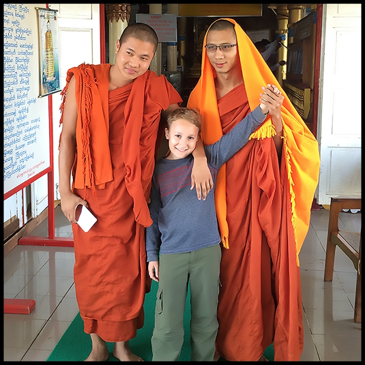 Friendly Monks!