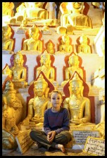 Sitting with some Buddhas