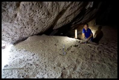 A Cave!