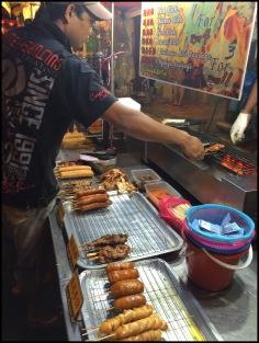 Street Food - Meat on a stick