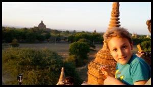 Sunset on a Pagoda