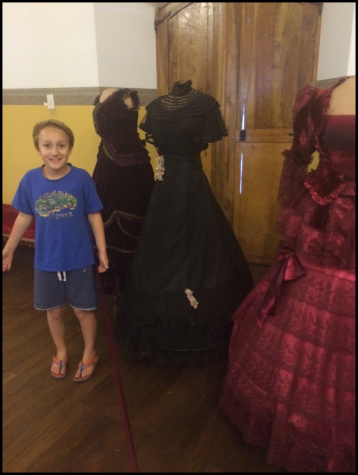The women were tiny! - Costume Museum