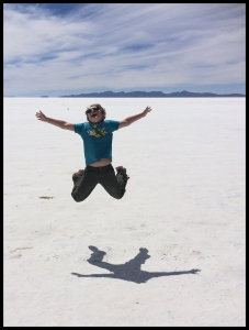 I love the salt flats!