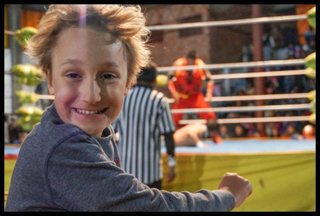 So much fun watching wrestling!