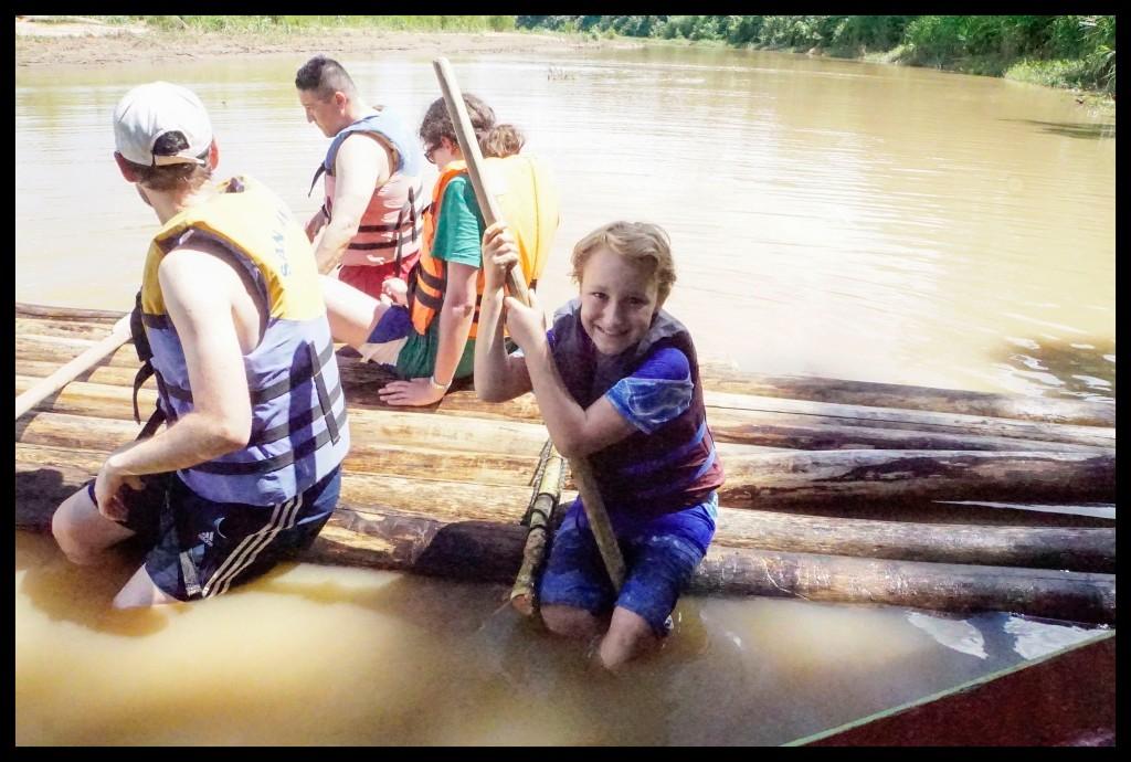 On a raft