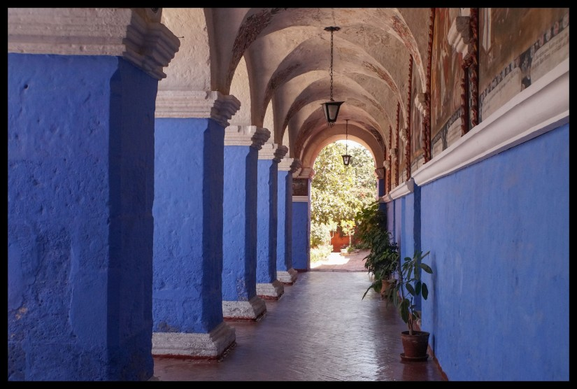 Arches inside the convent