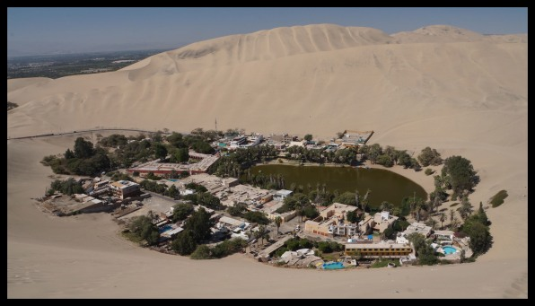 Oasis town of Ica