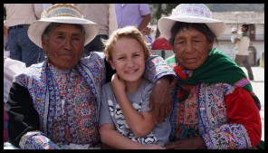 Met some nice old ladies at a festival