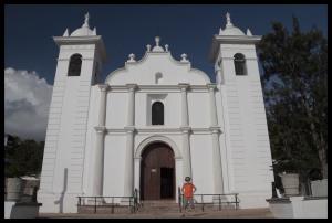The 16th Century Church in Santa Lucia