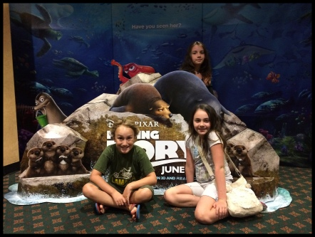 Finding Dory with Kyla and Elia