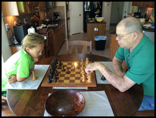 Playning Chess with Grandpa Bill