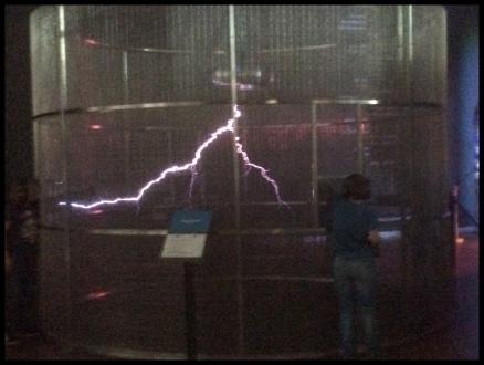 Man-made lightning