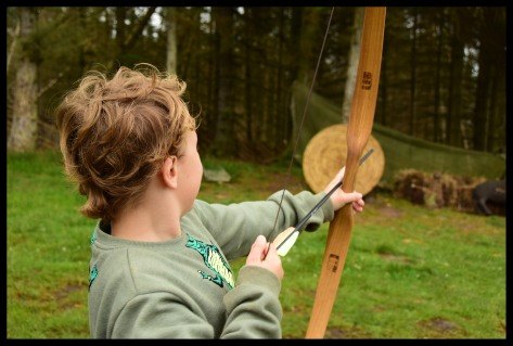 Archery at the Viking Village