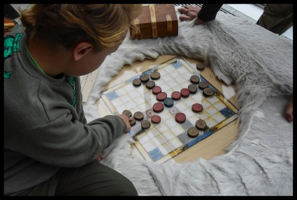 Learning a viking game