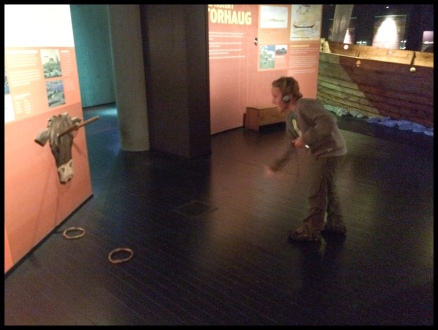 PLaying around at the viking museum