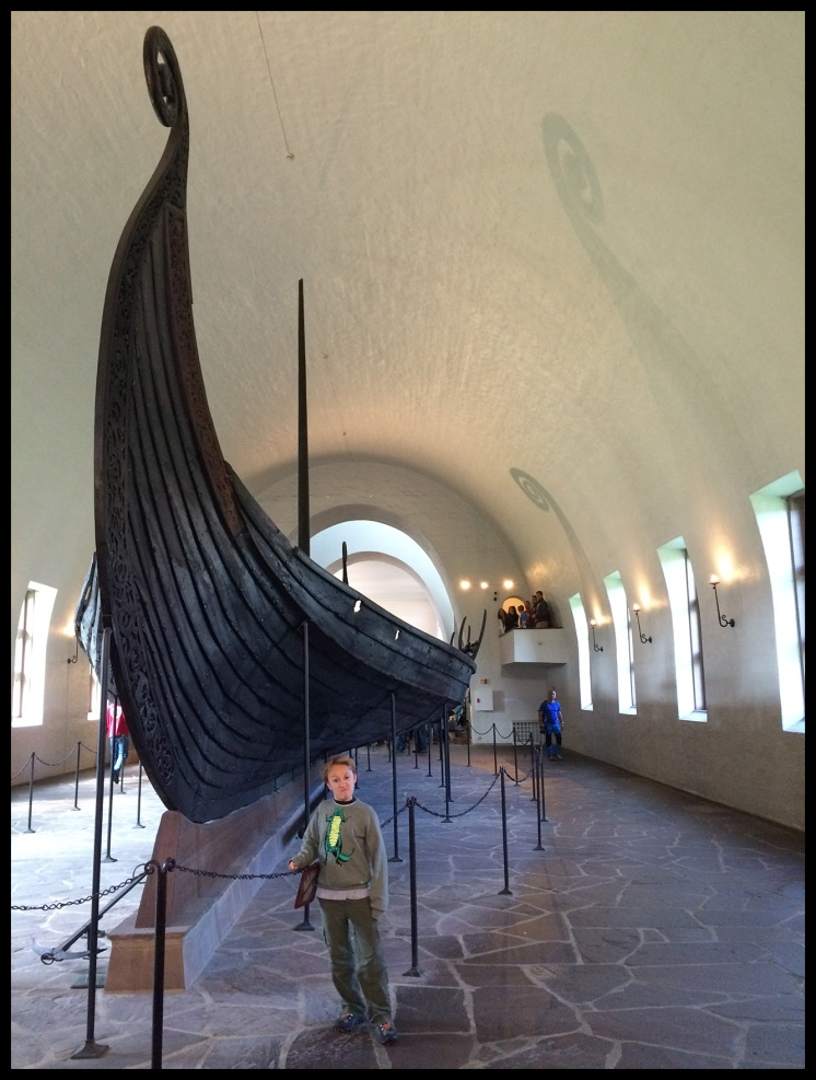 Viking ship! Wow!