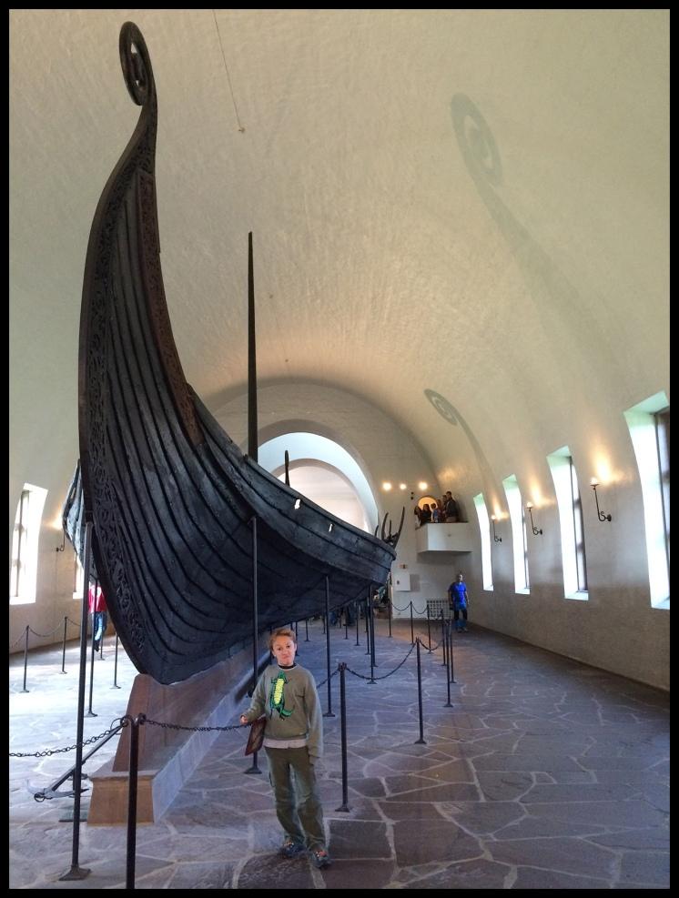 Viking ship! Wow!