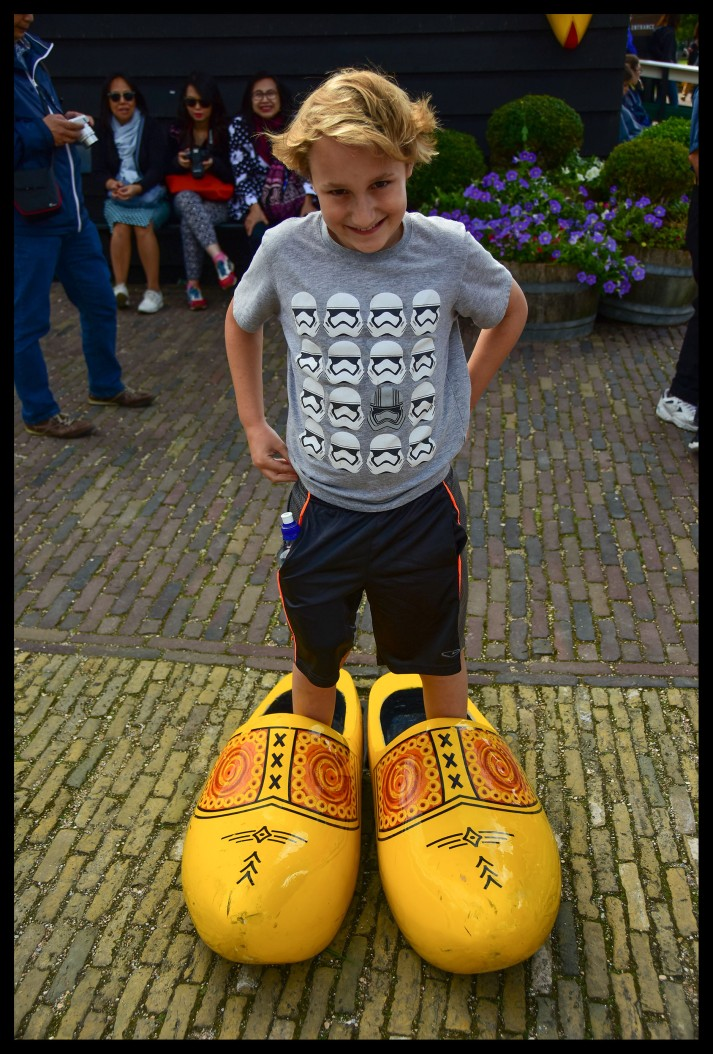 They have huge feet in the Netherlands!