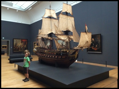 Look at this ship in the Rijksmuseum!