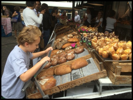 So much bread in Amsterdam!
