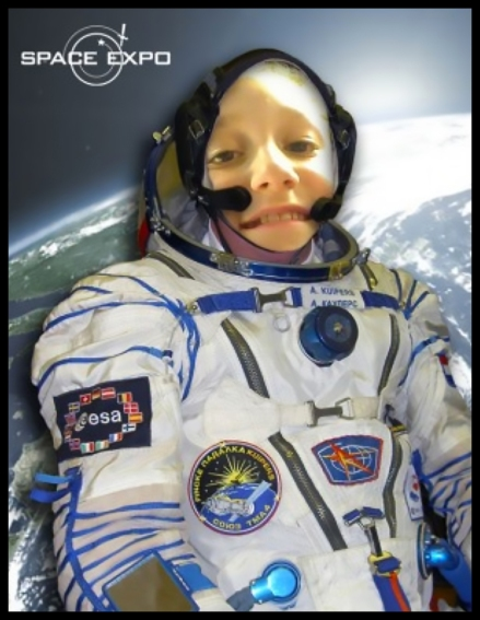 I became an astronaut!