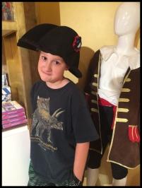 Don't wanna dress like Napoleon!